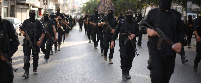 المقاومة الفلسطينية تتصدى للعدوان الاسرائيلي على غزة