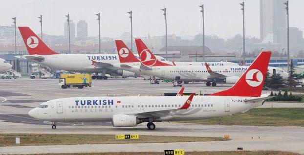 إصابة 30 من ركاب طائرة للخطوط التركية بسبب مطبات هوائية أثناء رحلة إلى نيويورك