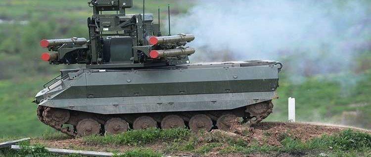 تحديث روبوت عسكري روسي استخدمه الجيش في سوريا