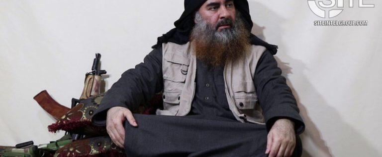 بالفيديو  ابو بكر البغدادي في تسجيل جديد