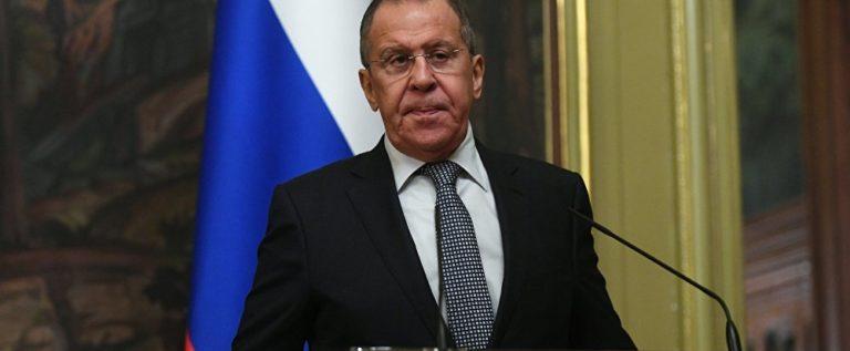 لافروف: روسيا لن تقبل بوجود إرهابيين في إدلب وغيرها من سوري