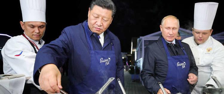 طبخة روسية صينية بقيمة 100 مليار دولار