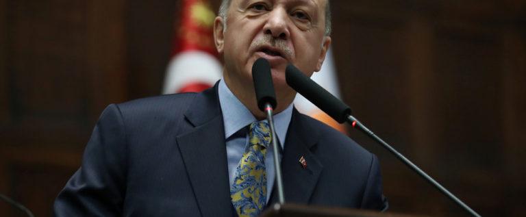 أردوغان: سنسلم جميع الأراضي السورية إلى أصحابها الحقيقيين