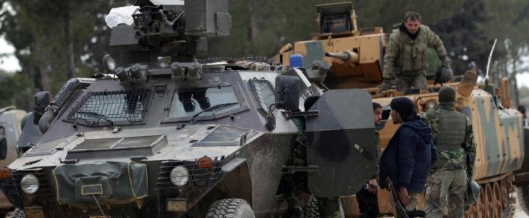 أنقرة: قوات الأسد وجهت ضربة لموقع قرب نقطة للجيش التركي في إدلب