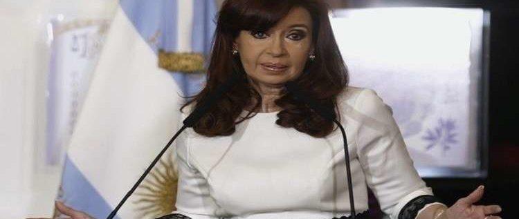 كيرشنر تعلن ترشحها لمنصب نائب الرئيس في الارجنتين