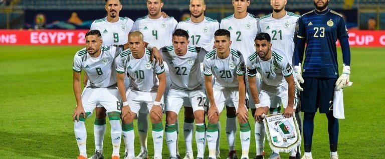 التشكيلة الأساسية لمباراة الجزائر والسنغال