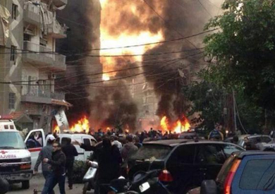 مشاهد اولية للتفجير في منطقة باب بحر بالعاصمة التونسية