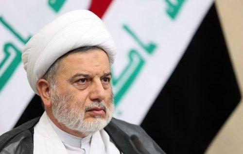 رئيس المجلس الإسلامي العراقي يبرق للسيد نصرالله معزيا بشقيقته