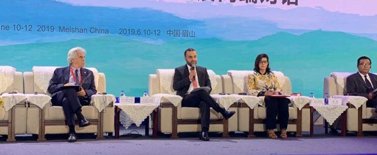 داوود من الصين:وزارة الثقافة أطلقت خطة للنهوض ترتكز على الاستثمار في المواقع الأثرية والتاريخية