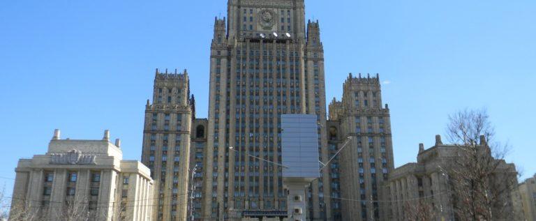 """الخارجية الروسية تصف التصريحات الأميركية بشأن استخدام السلاح السيبراني بـ """"اللعب بالنار"""""""