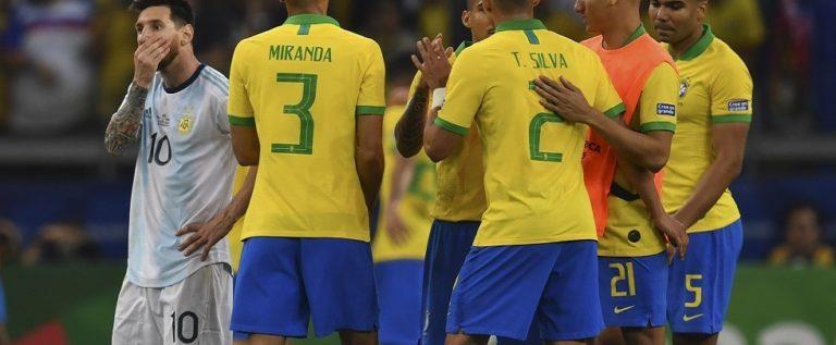 """شاهد.. البرازيل تطيح بالأرجنتين وتتأهل لنهائي """"كوبا أمريكا 2019"""""""