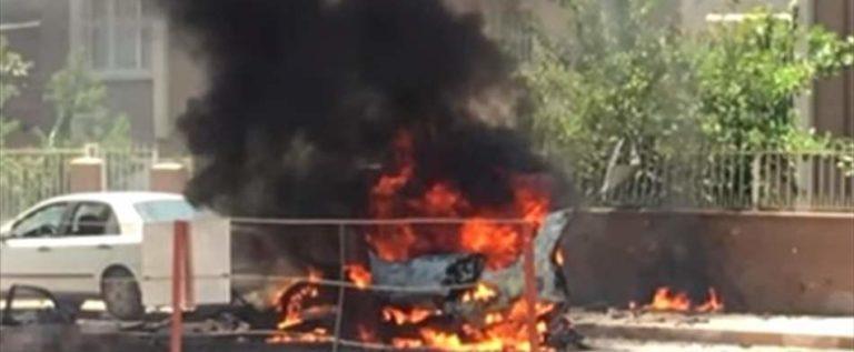 """قتلى بانفجار """"إرهابي"""" في الريحانية قرب الحدود مع سوريا (فيديو)"""