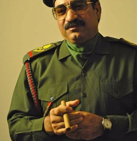ممثل مصري يجسد شخصية صدام حسين في فيلم هوليودي