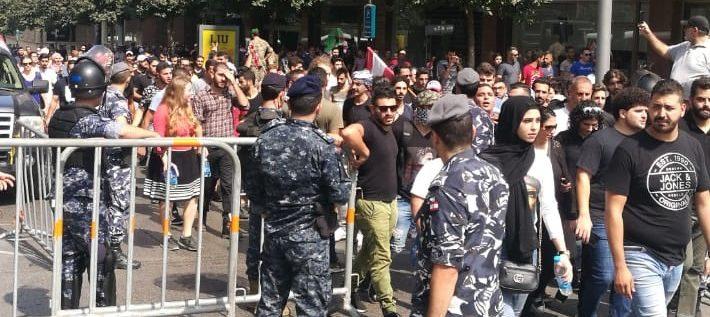 مظاهرات في بيروت والمناطق احتجاجا على الاوضاع المعيشية