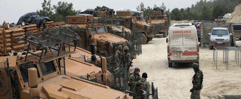 """أنباء عن هجوم تركي على أحد مواقع """"قوات سوريا الديمقراطية"""" في محافظة الحسكة"""
