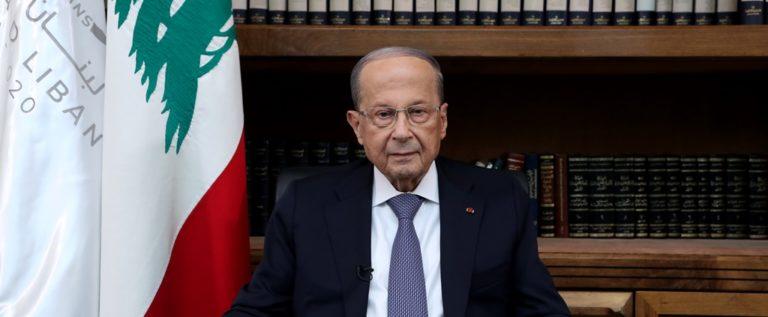 الرئيس عون بعد لقائه رئيس ايرلندا: اكدت تمسك لبنان بالاحترام الكامل للقرار 1701 وبانسحاب اسرائيل من الاراضي المحتلة