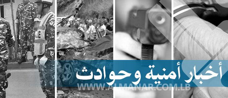 8 جرحى في حادث سير على طريق الضنية طرابلس