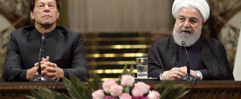 الرئيس روحاني يستقبل عمران خان
