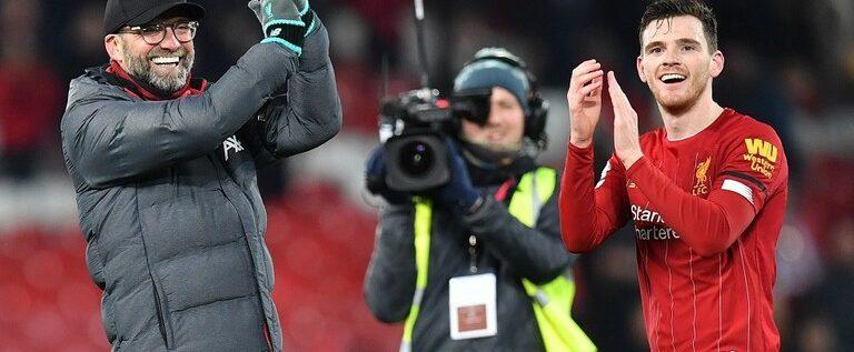 روبرتسون: الجميع يخشى مواجهة ليفربول