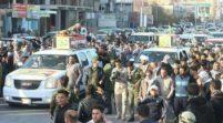 العراق يشيع شهداء العدوان الاميركي الذي استهدف الحشد الشعبي