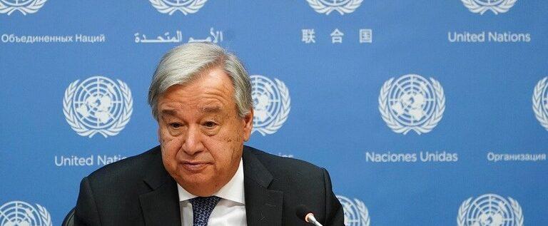 الأمين العام للأمم المتحدة يدعو لتوحيد الجهود العالمية لمساعدة اللاجئين
