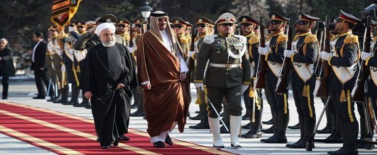 أمیر قطر يصل طهران للقاء خامنئي وروحاني