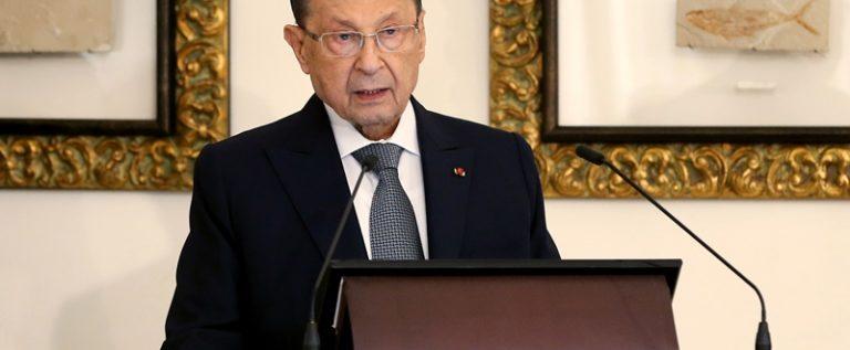 الرئيس عون تابع التطورات بخصوص كورونا: لأخذ الاجراءات والتأكد من سلامة الوافدين