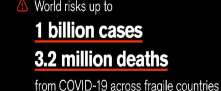 الإنقاذ الدولية: مليار شخص في العالم قد يصابون بكورونا والوفيات قد تصل إلى 3.2 مليون