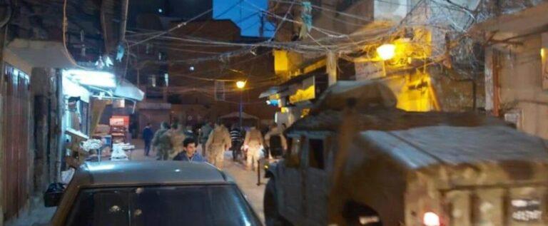 لبنان: انتشار لوحدات من الجيش في أحياء طرابلس لمنع التجمعات بسبب كورونا