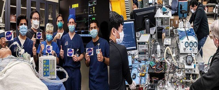 ناسا تطور جهاز تنفس اصطناعيا لمرضى COVID-19 في 37 يوما فقط