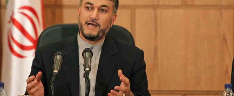 عبداللهيان: أنباء حول اتفاق بشأن استقالة الأسد كذبة كبرى