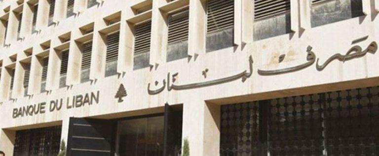 قرار لمصرف لبنان بشأن التسهيلات للمصارف والمؤسسات المالية