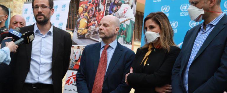 وزير الصحة بعد تفقده ووزيرة والإعلام مركز سبلين للعزل والمستشفى الحكومي: لنتأهب تخوفا من موجة ثانية
