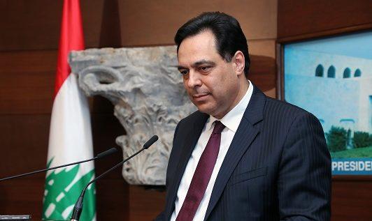 دياب يعلن إعادة فتح البلد جزئيا اعتبارا من يوم غد
