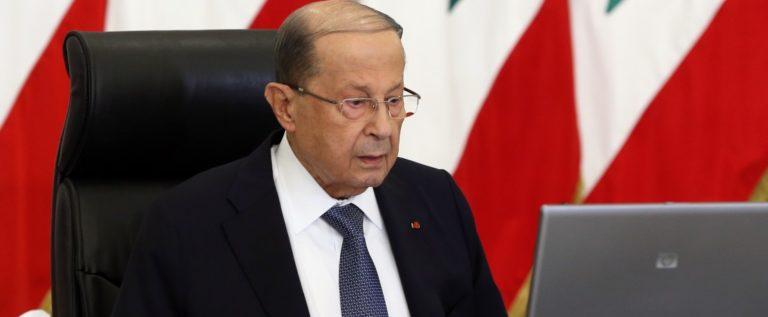 الرئيس عون: على اللبنانيين التمسك بالأمل وعدم الاستسلام أمام الصعوبات