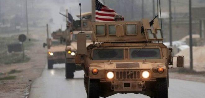 سانا : الاحتلال الأمريكي يدخل 40 شاحنة محملة بمواد لوجستية ومعدات عسكرية إلى قاعدته غير الشرعية في المالكية بريف الحسكة