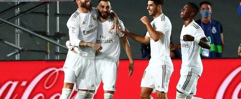 ريال مدريد يتوج بلقب الدوري الإسباني للمرة الـ34 في تاريخه