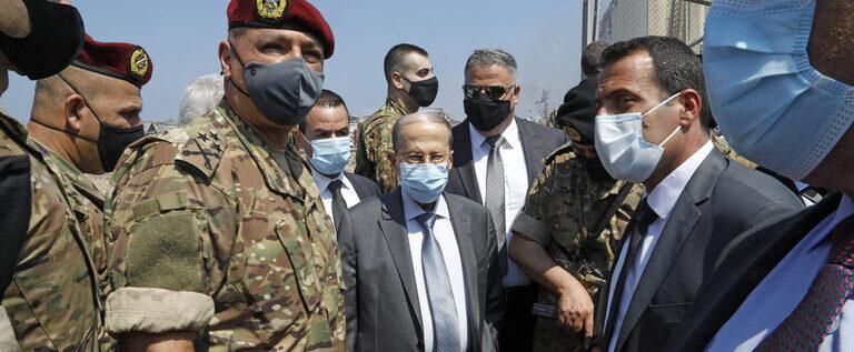 عون: سبب انفجار بيروت لا يزال مجهولا واحتمال تدخل خارجي وارد