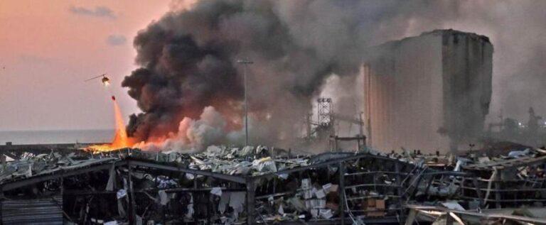 متى تنتهي عمليات مسح اضرار انفجار المرفأ؟