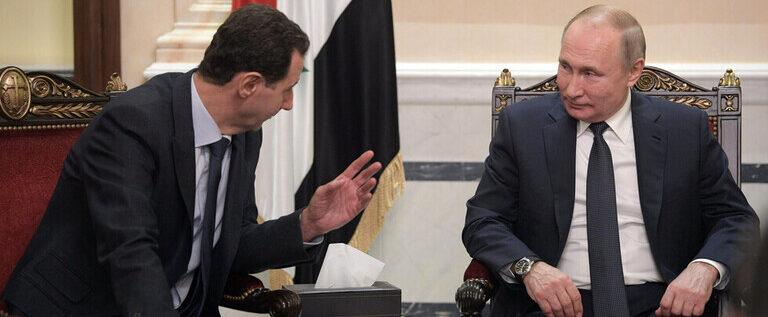 الاسد: القواعد العسكرية الروسية في سوريا لها أهمية كبيرة في ضمان أمن واستقرار البلاد