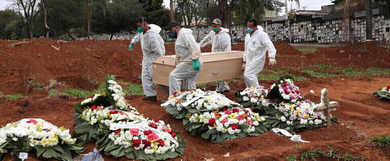البرازيل تسجل 23227 إصابة و661 وفاة جديدة بفيروس كورونا