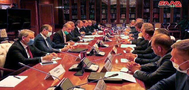 جلسة محادثات روسية – سورية في موسكو