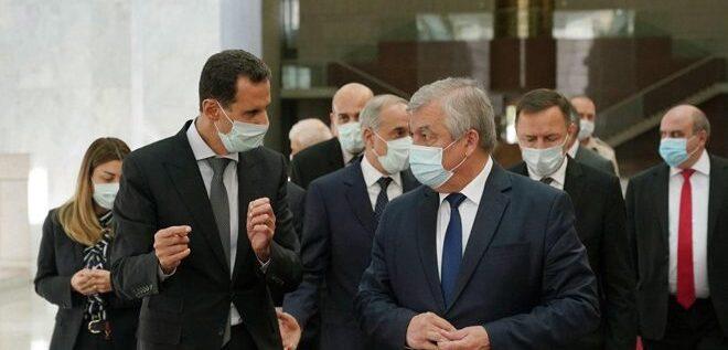 الرئيس الأسد استقبل وفدا روسيا.. والبحث تمحور حول المؤتمر الدولي حول النازحيين السوريين
