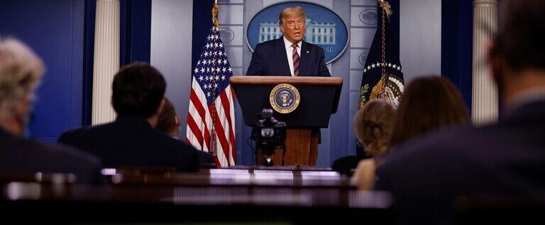 ترامب: إذا تم احتساب الأصوات الشرعية فأنا الفائز