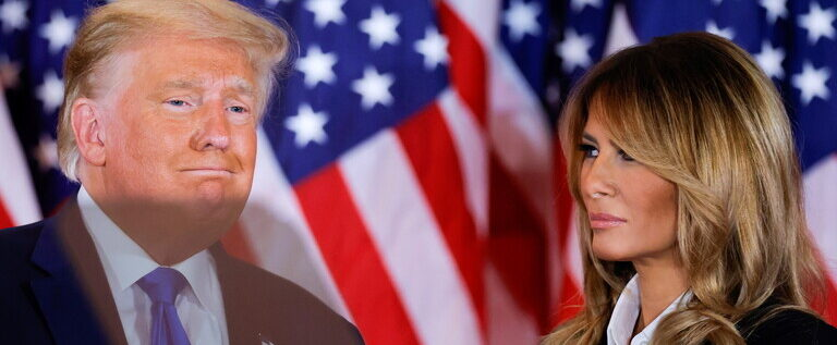 تقرير: ميلانيا ترامب تحسب الدقائق في انتظار الطلاق