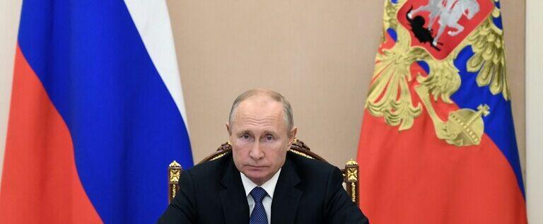 بوتين: الوباء ضرب الاقتصاد العالمي بشدة وأدى إلى الركود