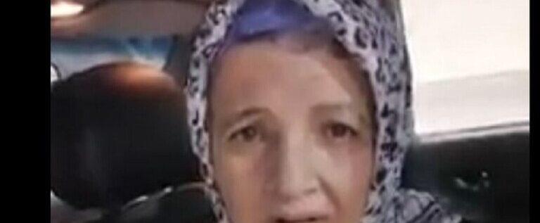 مصر.. السيدة التي أجبرها ابنها على الزحف تظهر في فيديو جديد وتبكي بشدة