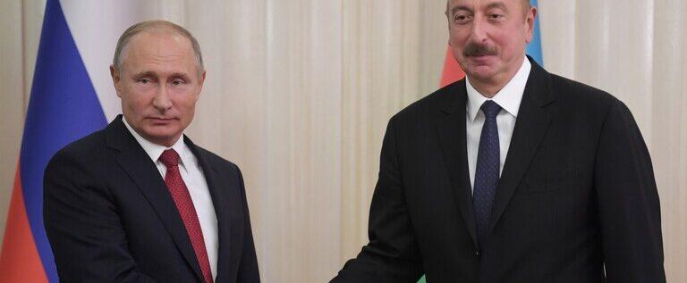 بوتين وعلييف يبحثان افتتاح المركز الروسي التركي لمراقبة الهدنة في قره باغ