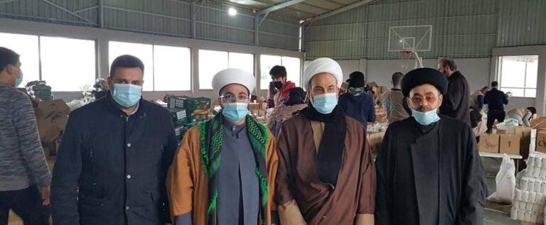 حصص غذائية من حزب الله إلى العائلات المعوزة في عكار والشمال