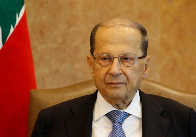 عون: هنيئاً للبنان بأبطال منتخب كرة السلة